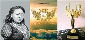 Author wins prestigious award for her book, Soaring on a Wing